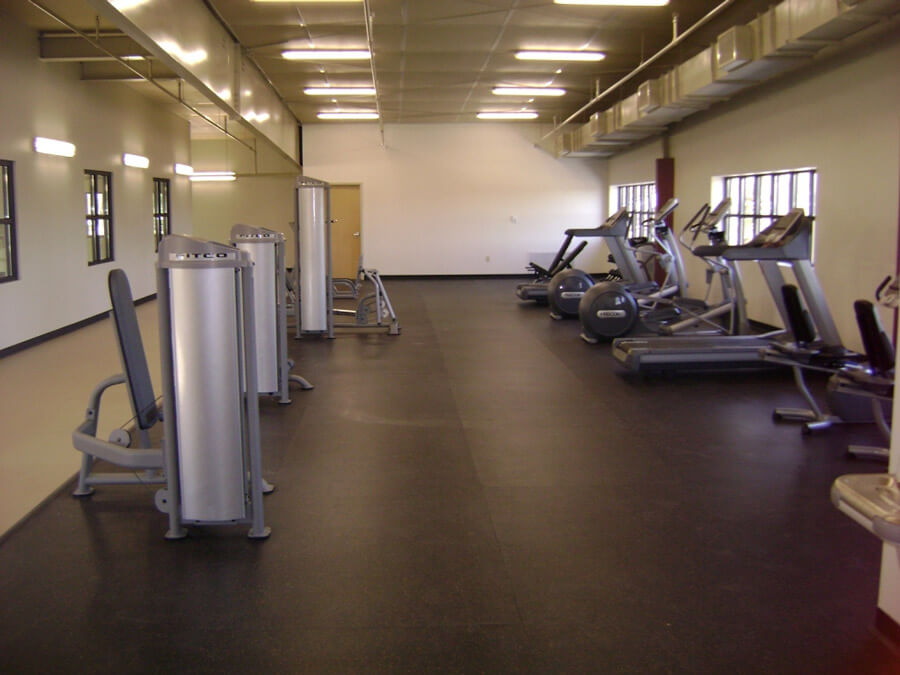 Weight Room Flooring. AllSport America Sport Court Resilient Surfaces