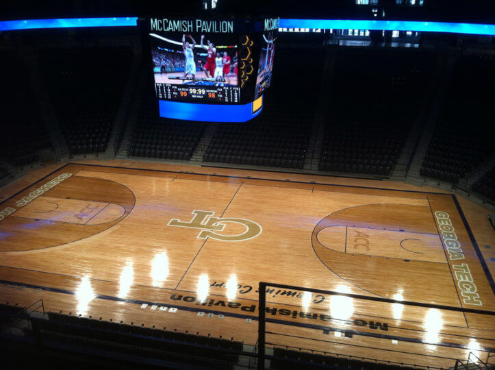 Wood Floor GA Tech McCamish
